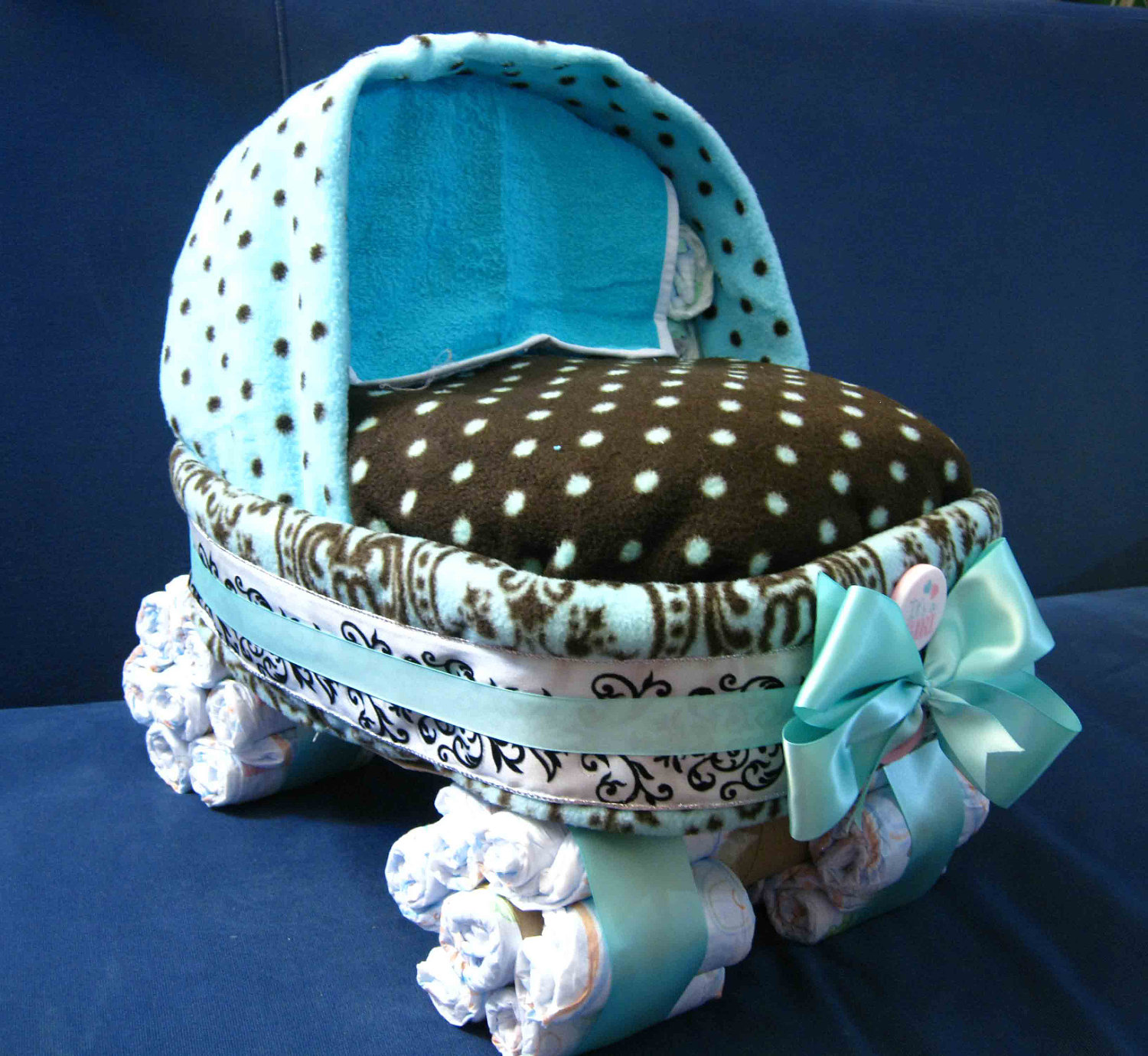 Dare To Dream Diaper Cakes