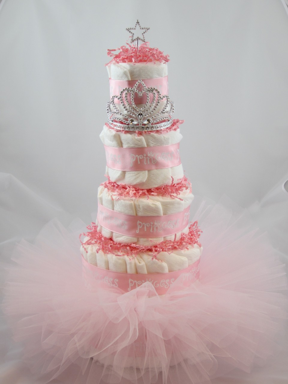 Dare to dream diaper cakes for Baby shower diaper decoration